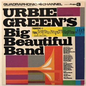 Urbie Green's Big Beautiful Band LP PR5087 bdb