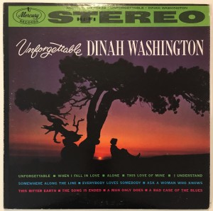 Dinah Washington - Unforgettable LP SR60232 dosk