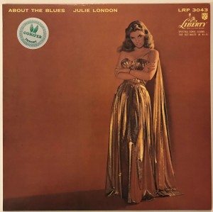 Julie London - About The Blues LP LRP3043 dosk