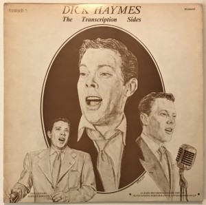 Dick Haymes - The Transcription Sides LP ballad5