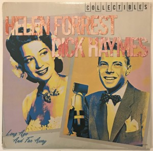 Helen Forrest - Long Ago And Far Away LP MCA1546