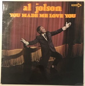 Al Jolson - You Made Me Love You LP MUP324 dobry