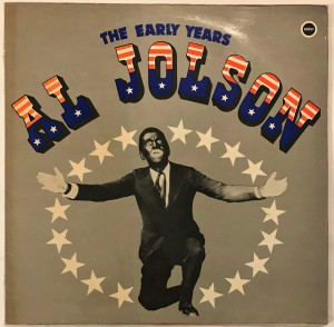 Al Jolson - The Early Years LP SE8026 bardzo dobry