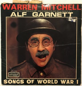 Warren Mitchell - Songs Of World War 1 LP ALL840