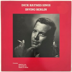 Dick Haymes Sings Irving Berlin LP MCL1773 dosk