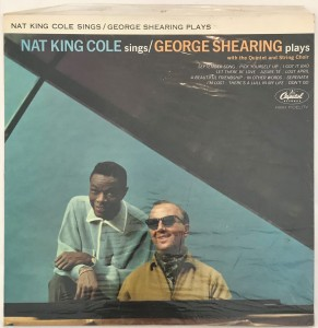 King Cole Sings / George Shearing Plays LP SW1675