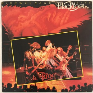 Blackfoot - Highway Song Live LP K50910 bdb