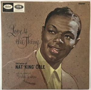 Nat King Cole - Love Is The Thing LP SLCT6129 db