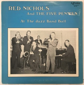 Red Nichols - At The Jazz Band Ball LP BR130 bdb