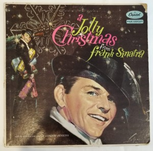 A Jolly Christmas From Frank Sinatra LP W894