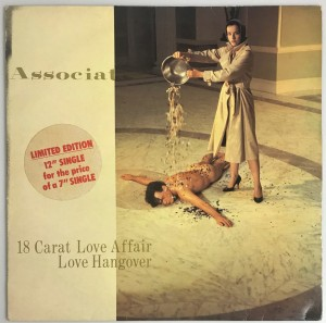 "18 Carat Love Affair / Love Hangover SP 12"" ASC3T"