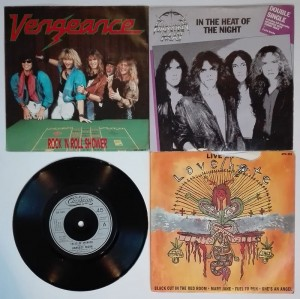 4 single - Vegance/Diamond Head/Harvest Moon/LoveHate