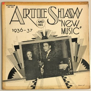 "Artie Shaw - ""New Music"" 1936-37 LP SB207 bdb"