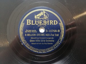 Million Dreams Ago /Blueberry Hill BlueBird B10768