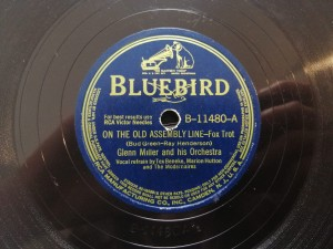 Miller On The Old Assembly Line BlueBird B11480