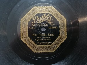 Memphis Five Four O'clock Blues Pathe 20893