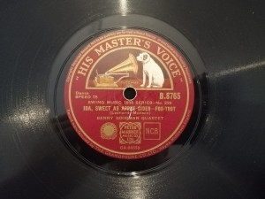 Ida sweet as apple cider / Dizzy Spells HMV B8765