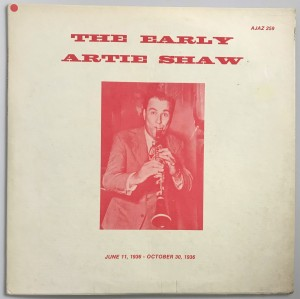 The Early Artie Shaw Volume 1-6 5xLP AJAZ259