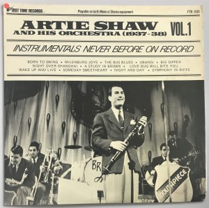 Artie Shaw - (1937-1938) Vol. 1-3 LP FTR1501