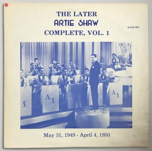 The Later Artie Shaw, Vol. 1-5,7 6xLP AJAZ291