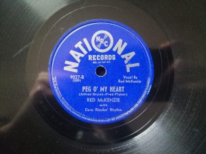 ACE IN THE HOLE/ PEG O' MY HEART National Rec 9027
