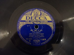Any Time At All/ One-Zy, Two-Zy Decca F8679
