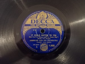 AMBROSE Love, Here Is my Heart Decca F8488