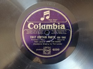 BERT RALTON - THAT CERTAIN PARTY Columbia 4099