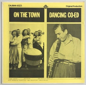 Frank Sinatra On The Town / Dancing Co-Ed LP CALIBAN6023 bdb