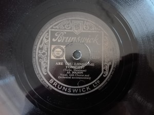 Al Jolson No Sad Song For Me Brunswick 4559