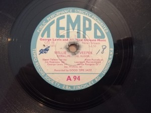 George Lewis Willie The Weeper Tempo A94