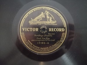 Van Eps My Regards Waltz / Persiflage Victor 17192