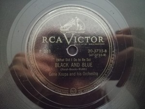 Krupa Black and Blue / Honeysuckle Rose RCA 203735