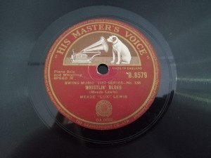 Honky Tonk Train Blues / Whistlin' Blues HMV B8579