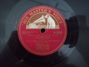 Duke Ellington Carnegie Blues HMV B9448