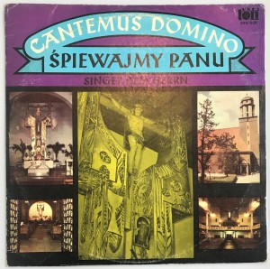 Cantemus Domino LP SXV926 doskonały