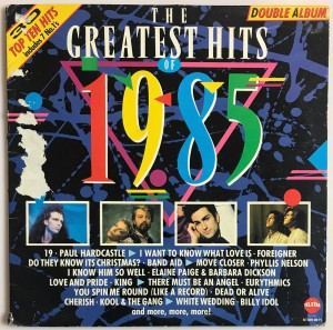 The Greatest Hits Of 1985 LP STAR2269 zadow