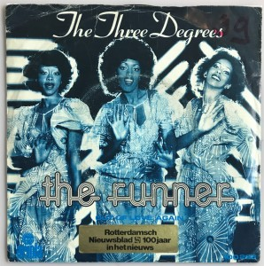 The Three Degrees - The Runner singiel 100286 DB