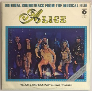 Soundtrack From The Musical Film Alice LP SX1914