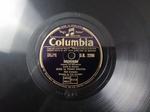 Sinatra SEPTEMBER SONG / SOUVENIRS Columbia DB2286