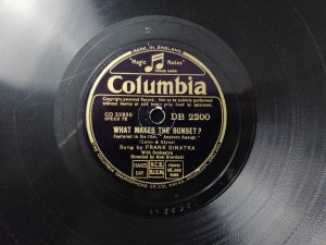 Sinatra What Makes The Sunset? Columbia DB2200