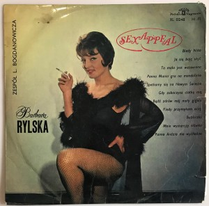 Barbara Rylska - Sex Appeal LP XL0248 kiepski