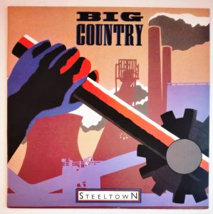 Big Country - Steeltown LP winyl stan db