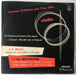 Concerto for two violins in D minor LP A00140L DB