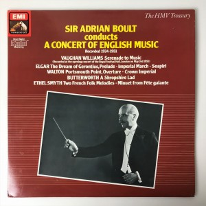 Boult A Concert Of English Music LP ED2910921 DOSK