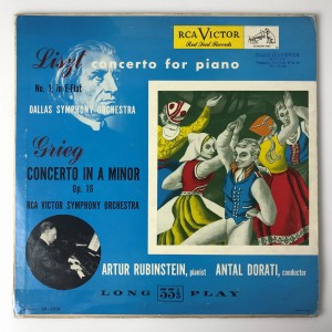 Concerto In A Minor, Op. 16 LP LM1018 zadow