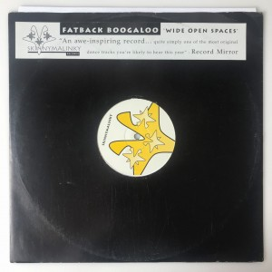Fatback Boogaloo - Wide Open Spaces LP SMR00295 DB