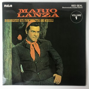 Mario Lanza In His Greatest Hits LP LSB4000 BDB