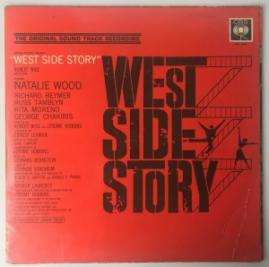 Leonard Bernstein West Side Story LP SBRG70006 BDB