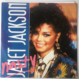 "Janet Jackson ‎- Nasty SP 12"" AMY316 BDB"
